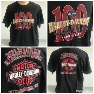Men Harley Davidson Tshirt sz XL